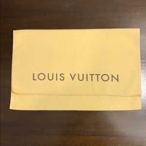 "💯Auth. Louis Vuitton 10"" Dust Bag for Waller Size"